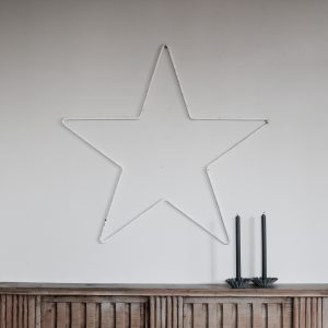 Wrought iron star