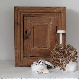 small vintage rustic cabinet