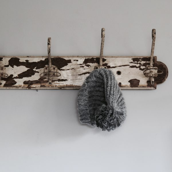 19th century French hallway coat rack