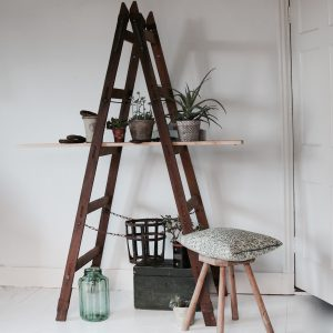 Vintage decorator's ladders