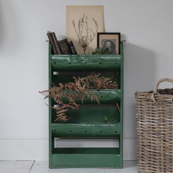 1950s French metal vegetable rack