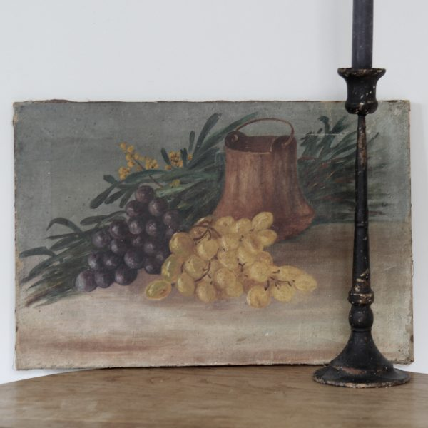 charming 19th century still life, oil on canvas