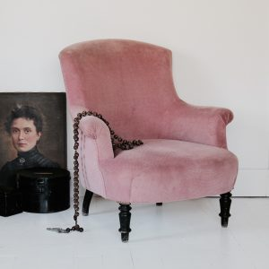 French Napoleon III armchair