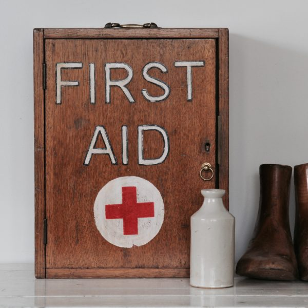 Mid century first aid cabinet