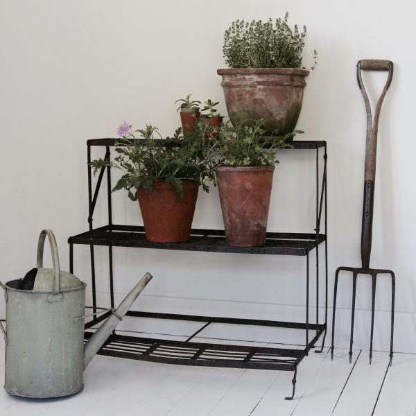 Vintage tiered plant stand