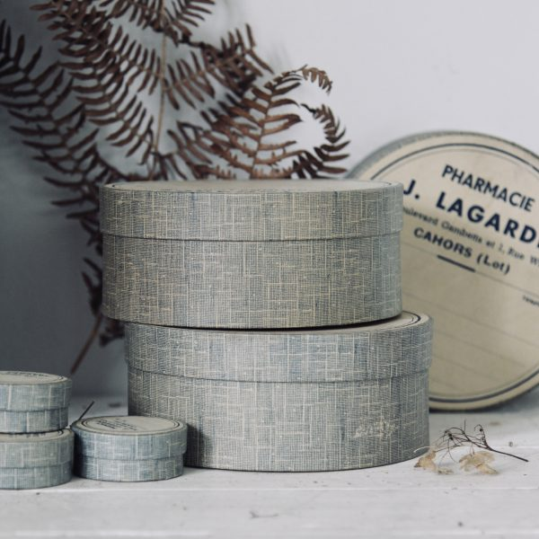 Vintage French pharmacy boxes