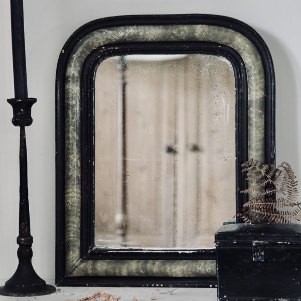 Charming French antique mirror