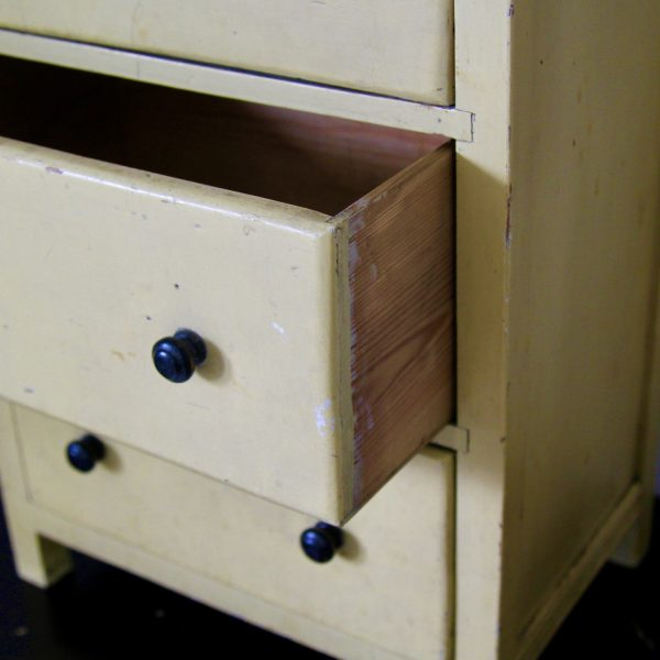 pre-war small bank of drawers