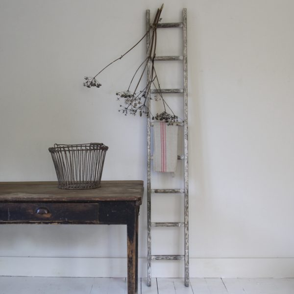 Tall vintage ladder