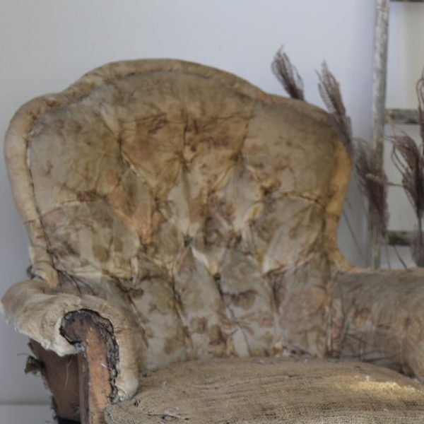 Large 19th century armchair