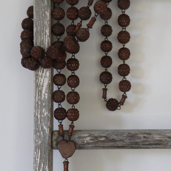 beautiful French priest's rosary