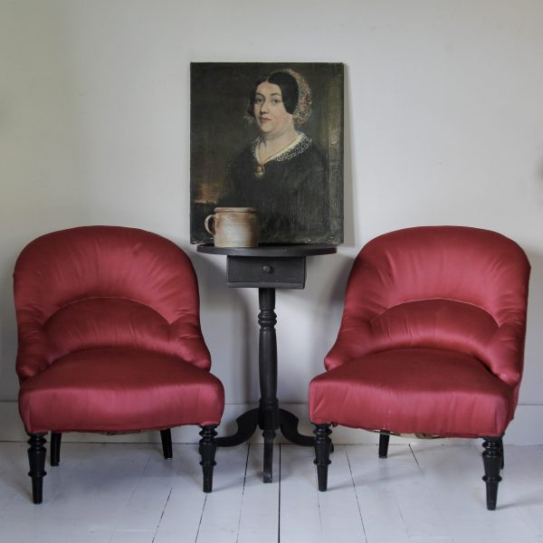 Turn of the century Pair of French armchairs