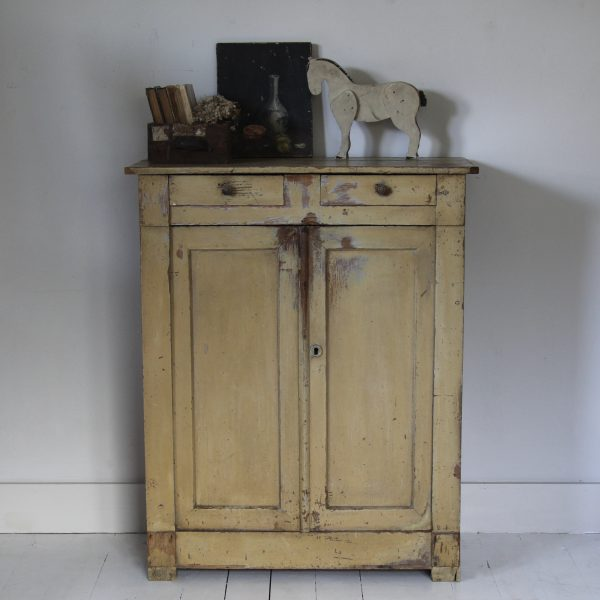 Late 19th century French farmhouse cupboard