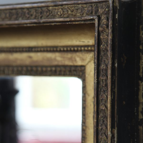 Late 1800s gilded mirror