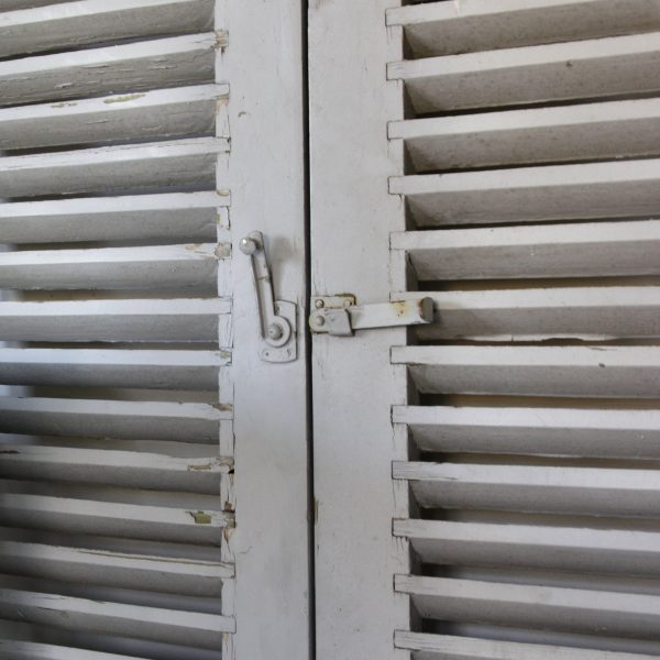 Pair of 19th century French shutters