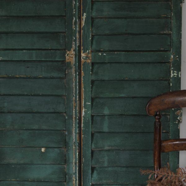 Beautiful pair of French 19th century shutters