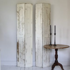 Large pair of 19th century Hungarian shutters