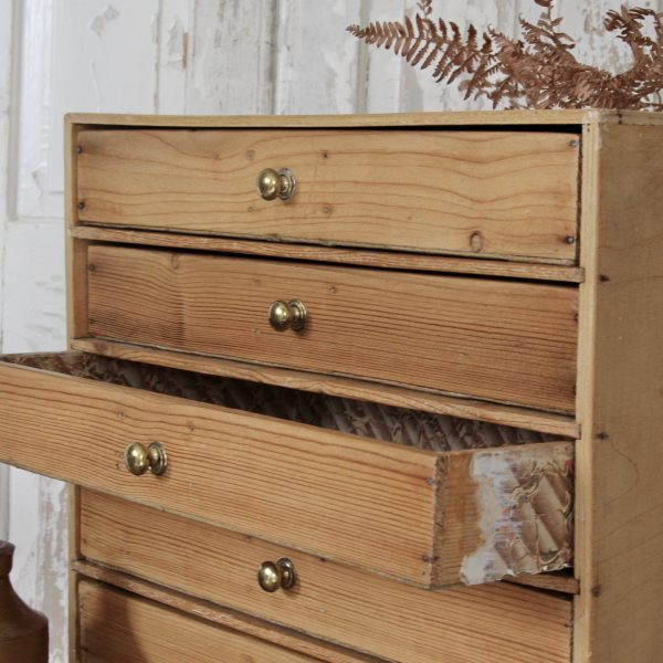Vintage table top drawers