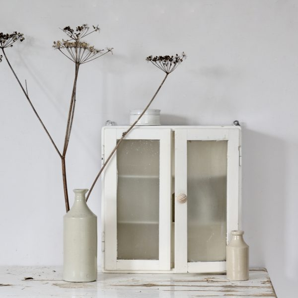 Mid-century glass cabinet