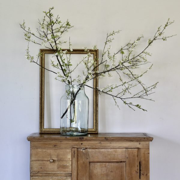 Turn of the century French pine cupboard