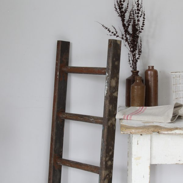 Small rustic vintage ladder