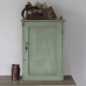 Vintage pine painted cupboard