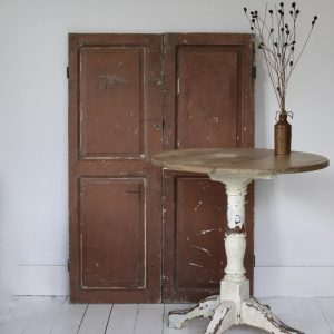 Antique pair French cupboard doors, circa 1900