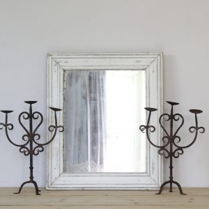 Simple French country mirror