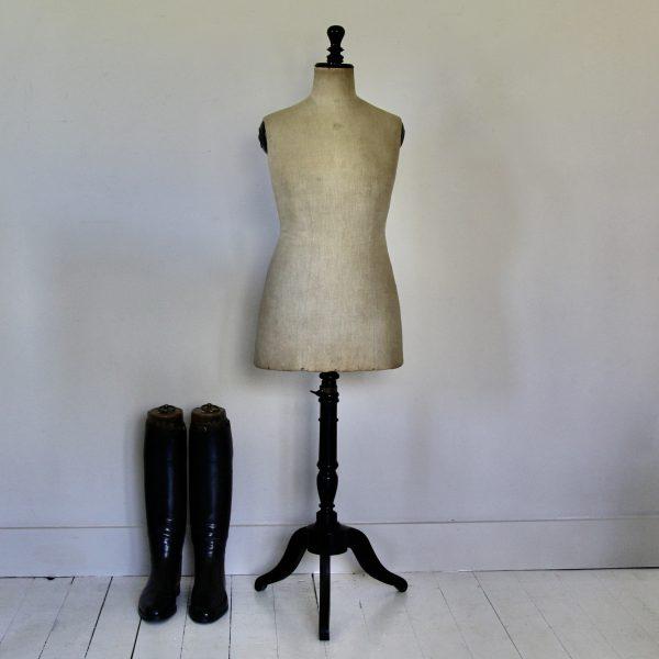 Victorian antique tailor's mannequin