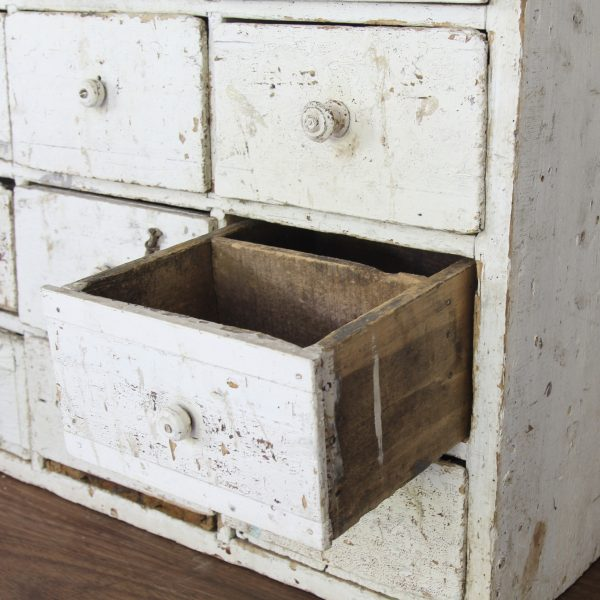 Stunning large antique French workshop drawers