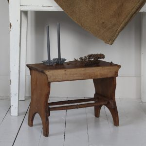 Turn of the century fireside stool