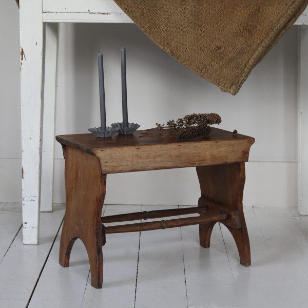 Turn of the century fireside stool