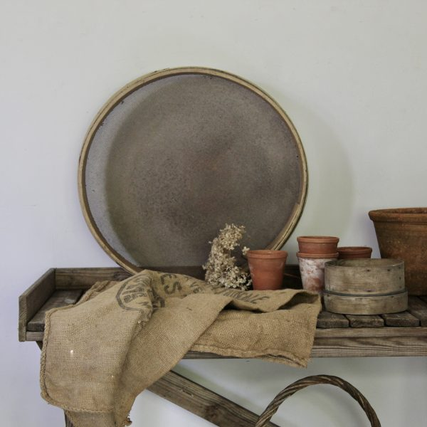 Large 19th century French sieve