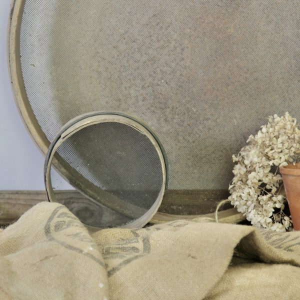 Small 19th century French sieve