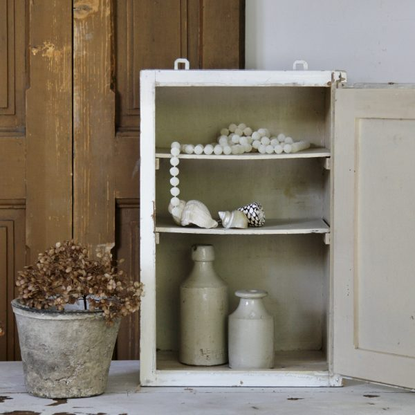 Small vintage cabinet in original paint