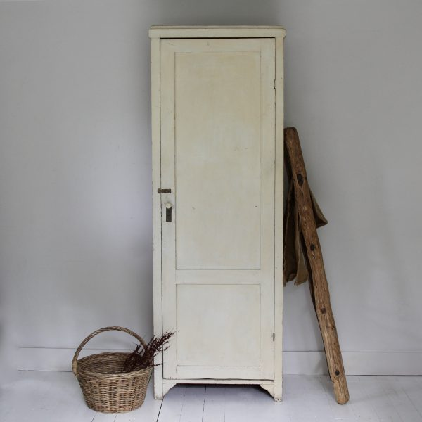 Tall antique housekeepers cupboard
