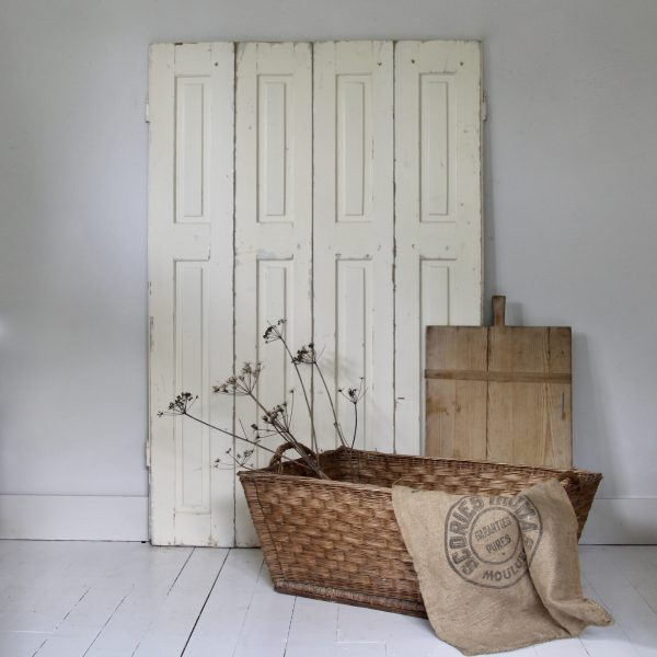 Pair of 19th century continental shutters