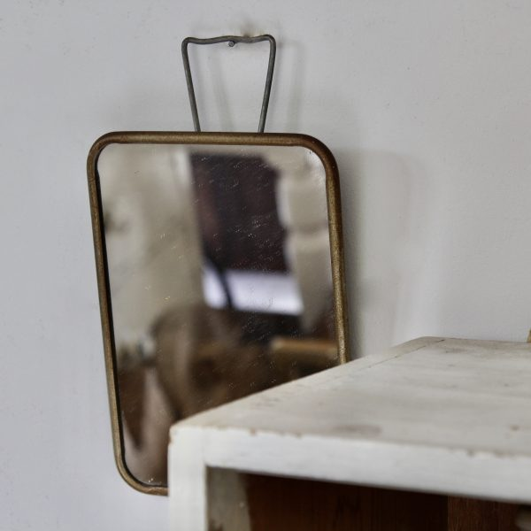 1940s French barber mirror