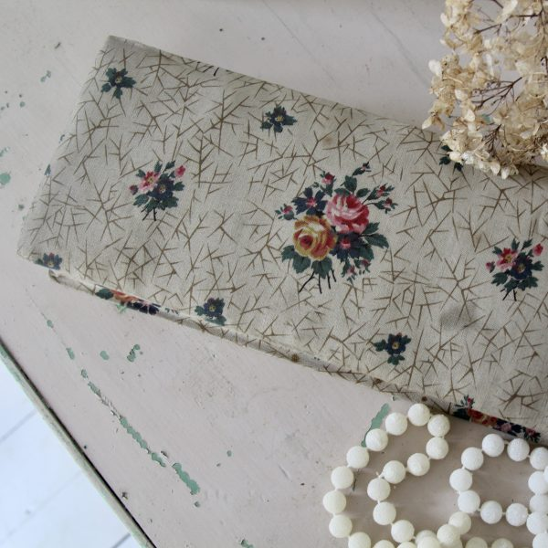 1930s French fabric glove box