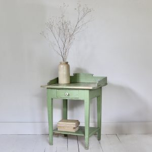 Antique Hungarian rustic side table